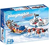 Playmobil 9057 - Slitta con Husky, 5 Pezzi