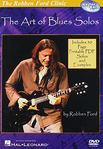 DVD : Robben Ford - The Art Of Blues Solos (DVD)