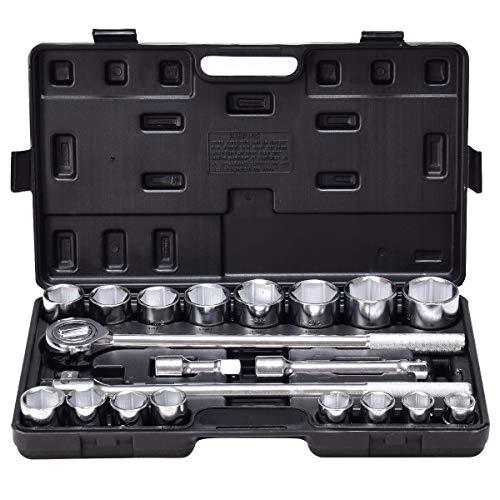 3 4 drive sae socket set - 2
