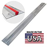 PEX GUY Extruded 4 Ft Aluminum Heat Transfer Plates for 1/2'' PEX (25 pc/box)