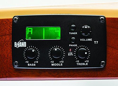 ESP LTD TL-6 Thin Line Acoustic Electric Guitar, Natural