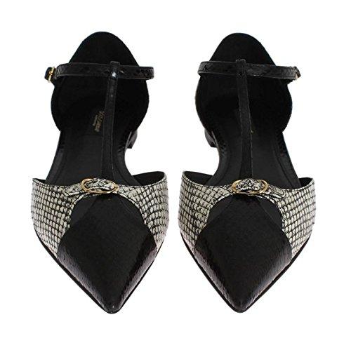 Bailarinas Piel amp; Dolce de Mujer Negro Negro para Otra Gabbana BEXwxF