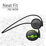 Avantree Sweatproof Sport Use Bluetooth Headphones for Running, No Wire, Light, Outer Ear Speaker Outdoor Wireless Stereo Headset with Mic - Jogger