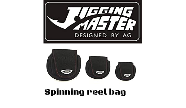 Jigging Master - Carrete Giratorio, Negro, Small: Amazon.es ...