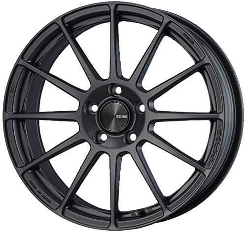 エンケイ (ENKEI) パフォーマンスライン PF03 (Performance Line PF03) 15インチ × 5J PCD100 穴数4 インセット45 カラー:マットダークガンメタリック ホイール単品 (1枚) 軽自動車
