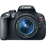 Canon EOS Rebel T5i DSLR Camera with 18-55mm Lens + 32GB SD Card + Camera Case + Tripod + UV Filter