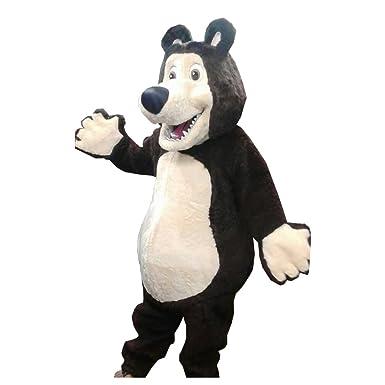 Amazon.com: KF el oso al 100% con tela de algodón de pato de ...