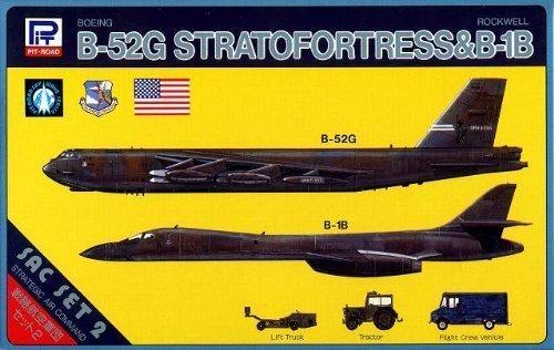 ピットロード 1/700 アメリカ海軍B-52Gストラトフォートレス&B-1B B00EAI5RJ2