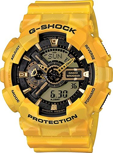 G Shock GA 110CM 9A Metallic Camouflage Watches