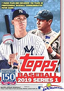2019 Topps Series 1 Mlb Baseball Exclusive Huge Factory