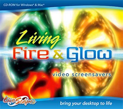 Living Fire & Glow Screensavers by LiveScapes
