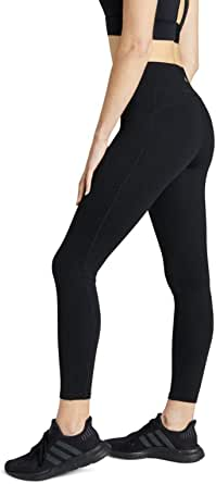 Rockwear Activewear Women's Fl Perforated Pocket Tight from Size 4-18 for Full Length High Bottoms Leggings + Yoga Pants+ Yoga Tights