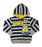 Despicable Me Full Front Zipper Hoodie Jacket Little Boys Little Girls 3t (4t)