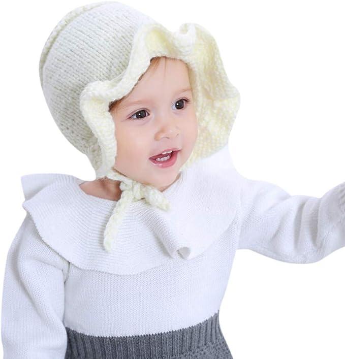 K-youth Lindo Sombreros Bebé Niña Volantes Sombrero de Princesa ...