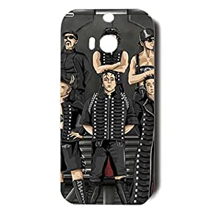 Funny Cartoon Design Rammstein Phone Case Hot-Sell Phone Cover for Htc One M8