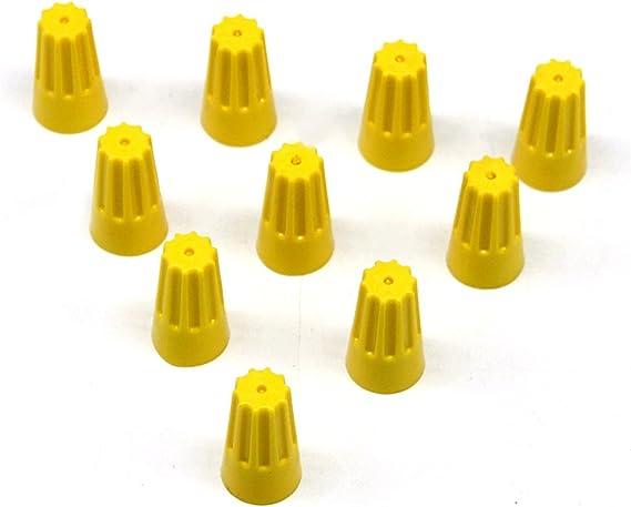LIOOBO 100 PCS Twist Connecteurs de c/âbles /électriques Printemps ins/ér/é Connexions ins/ér/ées