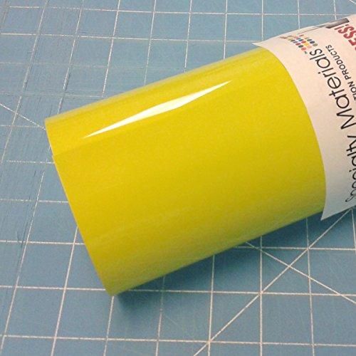 ThermoFlex Plus 15'' x 10' Roll Lemon Yellow Heat Transfer Vinyl by Thermoflex