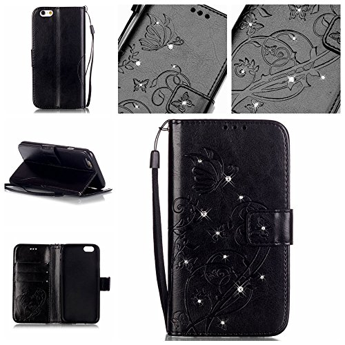 - Nutbro Galaxy J1 2016 Flip Case,Galaxy J1 2016 Case Fashion Embossed Painted Pattern Bling Diamond Flip Cover PU Leather Wallet Case Card Holder Protection Mobile Phone Bag Case