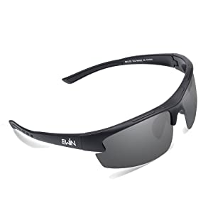 a8b4380cba Ewin E52 Polarized Sports Sunglasses with TR90 Unbreakable Frame for Men  Women Golf Cycling Driving Fishing