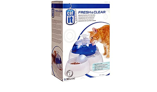 Hagen Cat/puppy Water Fountain: Amazon.es: Hogar