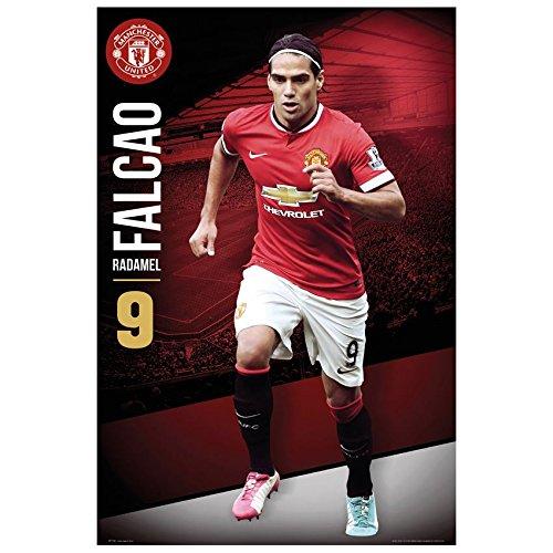 "Radamel Falcao - Manchester United 2014-2015 24""x36"" Art Print Poster"