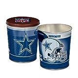 NFL Dallas Cowboys Tapered Gift Tin, 3 gallon