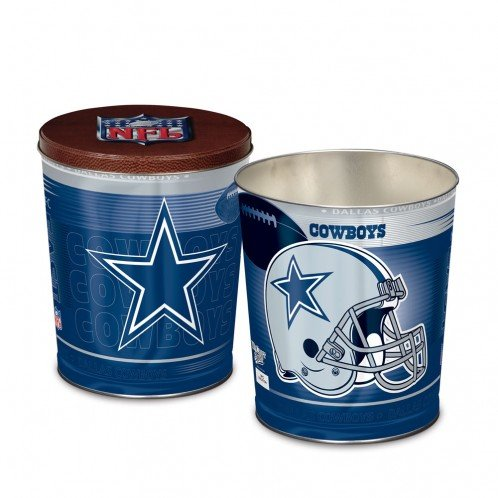 NFL Dallas Cowboys Tapered Gift Tin, 3 gallon by WinCraft