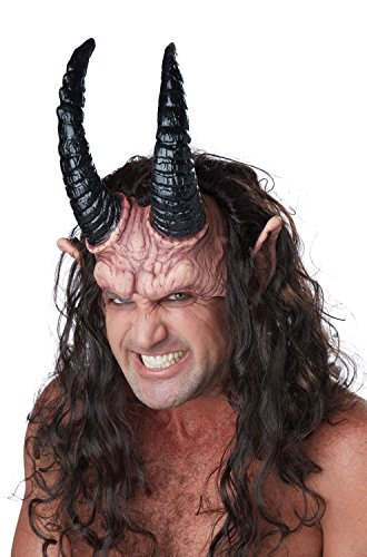 California Costumes Men's Devious Demon, Dark Brown/Flesh, One Size