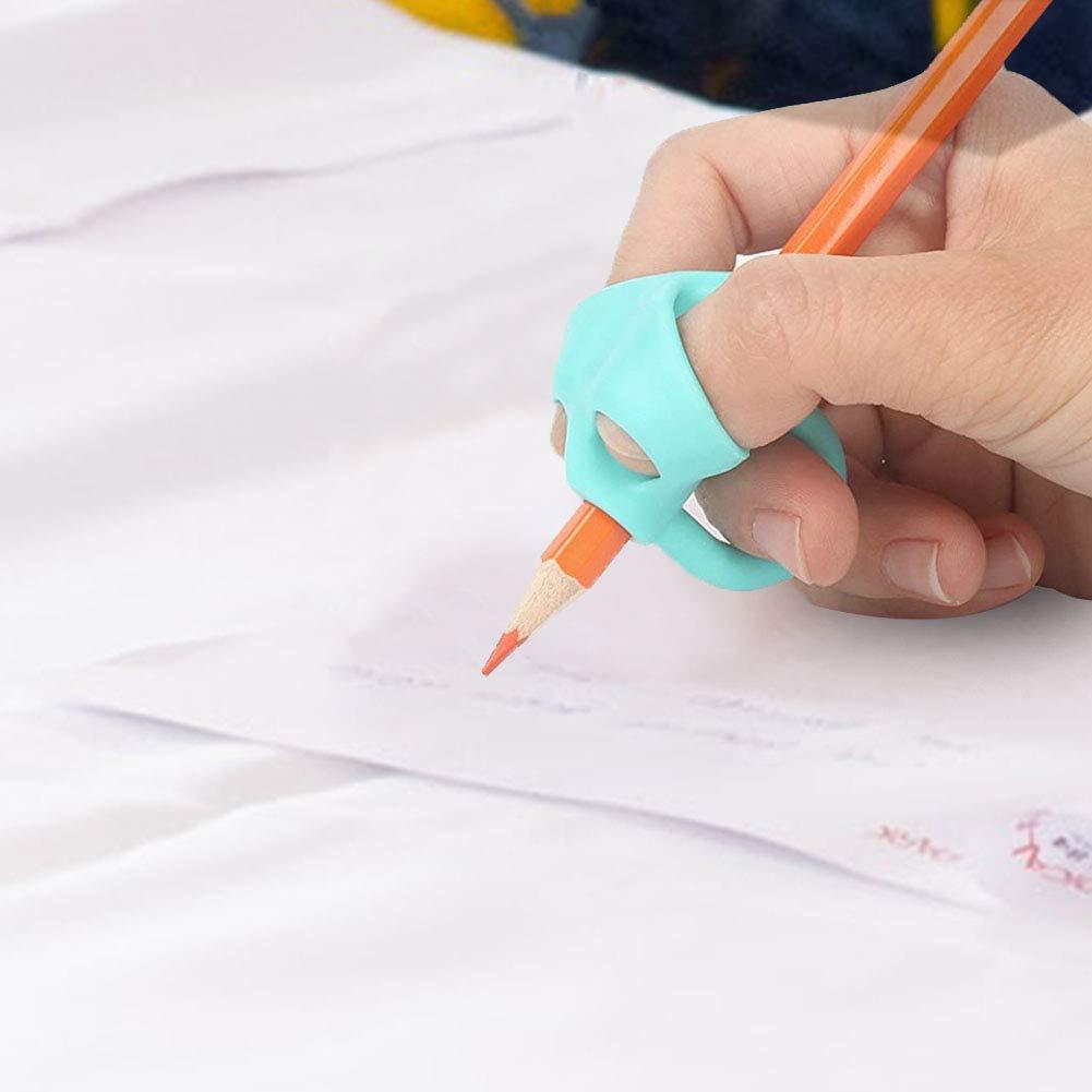AimdonR Matita Grip Pencil Grips Writing Grip Correzione della Postura Strumento per Bambini Allasilo Writing Corregge Posizionamento
