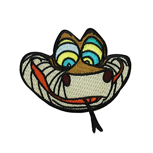 (Jungle Book Snake Kaa Iron On Craft Patch Disney Character Embroidered Applique )