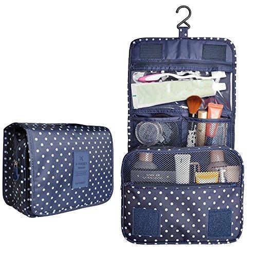 Unisexs Travel Bag Backpack Polyester Outdoor Backpack (Navy blue) - 5