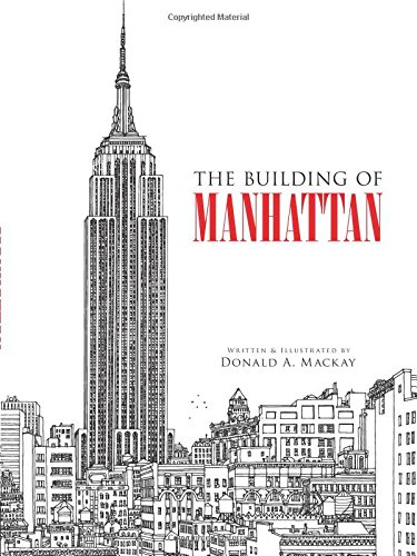The Building of Manhattan (Dover Architecture)