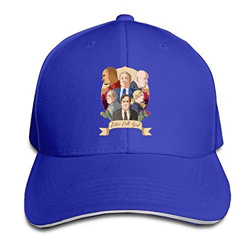 RoyalBlue Pure Cotton Sandwich Hats For Men Better Call Saul For Unisex