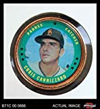1971 Topps Coins # 109 Chris Cannizzaro San Diego Padres (Baseball Card) Dean's Cards 4 - VG/EX Padres