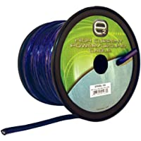 Scosche EP95BL-100 9.5mm Hex Power Wire (100 Feet, Blue)