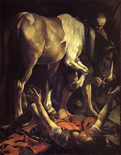 Caravaggio The Conversion of St Paul Santa Maria del Popolo Rome 1600 1601~30