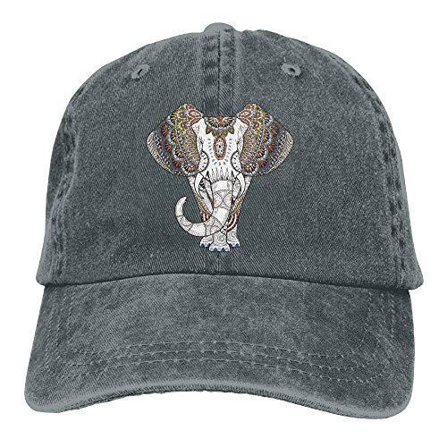 For Hats DEFFWB Cap Denim Hat Women Cowboy Men Skull Cowgirl Vintage Elephant Sport nvqaw1A