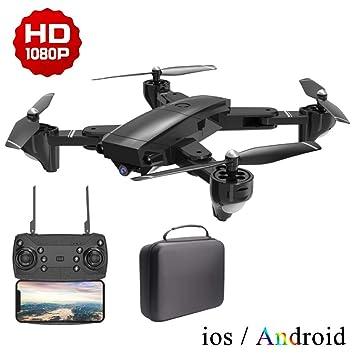 LJXWXN Drone con Cámara 1080P HD con Follow Me, 120º Gran Angular ...