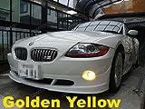 100W Golden Yellow 1 Pair of Xenon Super White