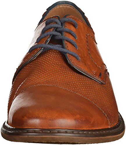 Hombre Zapatos planos amaretto/royal/na marrón, (amaretto/royal/na) 13428-24 Braun