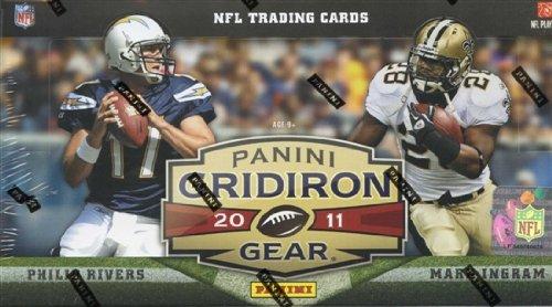 1 (One) Box - 2011 Panini Gridiron Gear Football Hobby Box (18 Packs per Box) - Possible Super Bowl Star Chris Matthews Rookie Card