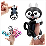 Interactive Baby Squirrel Electronic Toy for Children Finger Animal Christmas Holiday gift