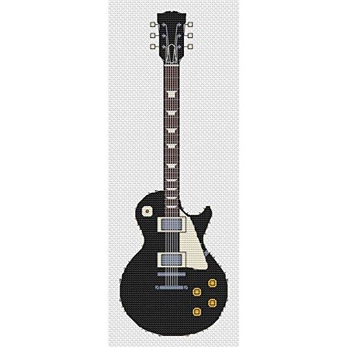 Kit de punto de cruz diseño de guitarra Les Paul (ébano Elite ...