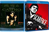 Crime Classics Casino & Scarface Tony Montana Blu Ray Bundle