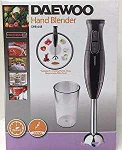 daewoo dhb 648 300 watt hand blender 220 volts non usa compliant by daewoo paintings. Black Bedroom Furniture Sets. Home Design Ideas