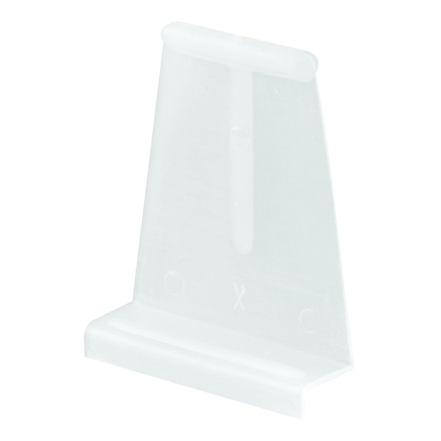 Prime-Line Products PL 14618 Spline Channel Pull Tabs, White,(Pack of 25)