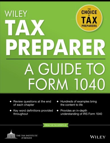 Wiley Tax Preparer: A Guide to Form -