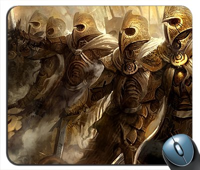 Guild Wars Armor Mouse Pad