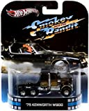 2013 Hot Wheels Retro Entertainment Smokey and the Bandit - 1975 KENWORTH W900
