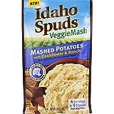 Idaho Spuds Veggie Mash, Cauliflower & Ranch Mashed Potatoes, 10 Count